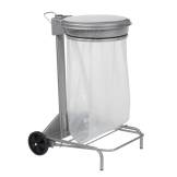 Poubelle industrielle mobile 50L Collecroule